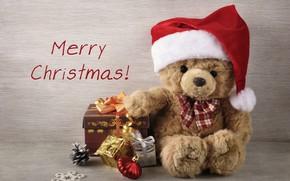 Картинка украшения, игрушки, елка, Новый Год, Рождество, подарки, Christmas, vintage, Merry Christmas, Xmas, gift, teddy bear, …