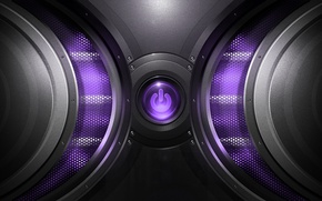Картинка сетка, кнопка, power, purple