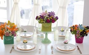 Картинка цветы, праздник, декор, Easter