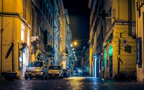 Картинка Ватикан, Италия, Рим, машины, Rome, город