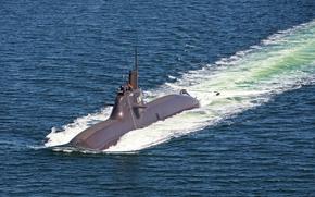 Картинка подводная, субмарина, Германия, ВМС, лодка, u34, дизельная
