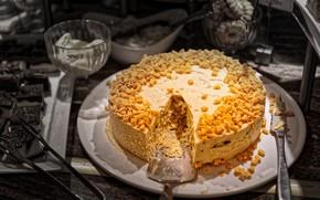 Картинка еда, торт, украшение, пирожное, крем, десерт, сладкое