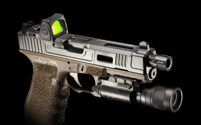 Картинка пистолет, фонарик, G22, FI Mk 2
