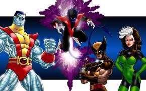 Картинка комиксы, персонажи, люди x