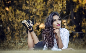 Картинка секси, модель, брюнетка, Ela Paez