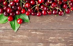 Картинка ягоды, fresh, wood, черешня, cherry, berries