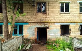 Картинка дом, old, заброшенное, building, slum