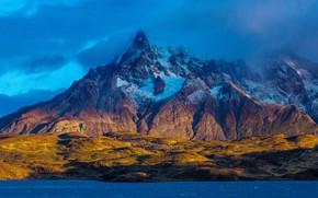 Картинка горы, озеро, Чили, Магальянес