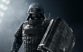 Картинка game, soldier, Rainbow Six, shield, Montagne, Tom Clancy's Rainbow Six Siege, Rainbow Six Siege, GIGN