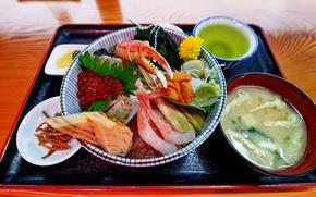 Картинка блюдо, суши, морепродукты
