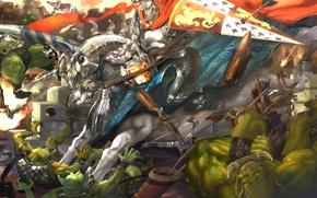 Картинка warrior, Dragon's Crown, goblins