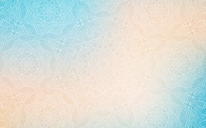 Картинка абстракция, текстура, abstract, орнамент, blue, with, background, ornament