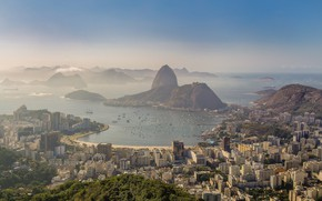 Картинка утро, Бразилия, Рио-де-Жанейро, Rio de Janeiro