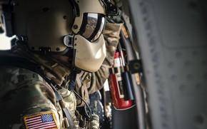 Картинка оружие, армия, солдат, Sikorsky UH-60 Black Hawk helicopter