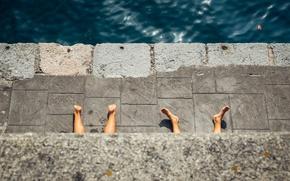 Картинка море, отдых, ноги, пятки, MICHELE BERLINGERI