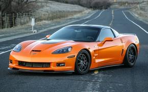 Обои Wheels, GZ3, Forgeline, Chevrolet, Corvette, Z06