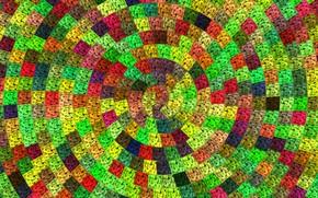 Картинка Tekstura, Kolorowe, Kwadraty