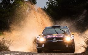 Картинка фары, Volkswagen, WRC, Rally, Polo