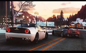 Картинка авто, игра, Alfa Romeo, The Crew, GameArt, retouch, 8C Competizione