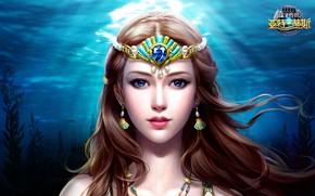Картинка вода, арт, fantasy, локация, slots league of heroes