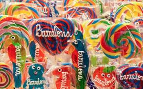 Картинка фон, конфеты, леденцы