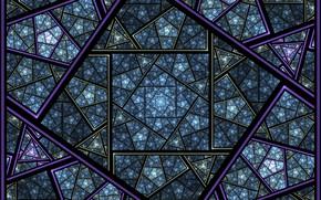 Картинка линии, узор, фрактал, геометрия