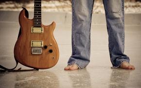 Картинка музыка, ноги, гитара