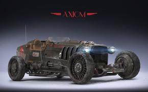 Картинка ретро, автомобиль, Igor Sobolevsky, Axiom MK I