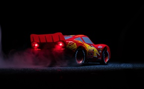 Обои Disney, animated film, Pixar, car, Lightning McQueen, Cars 3, animated movie, Cars, red