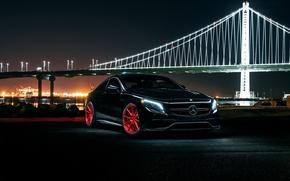 Обои S63, Wheels, Front, Garde, AMG, Avant, Coupe, Mercedes-Benz
