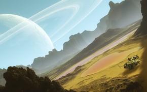 Обои spacescape, svyatoslav lee, космические пейзажи, space