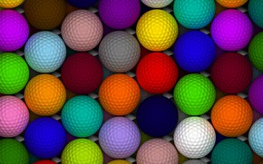 Картинка шарики, мячики