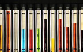 Картинка цвет, лаборатория, пробирки
