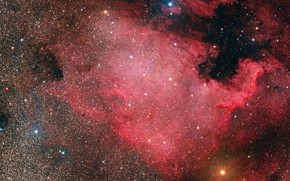 Картинка Nebula, North America, NGC7000