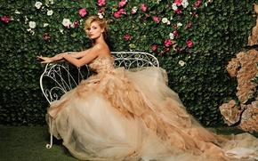 Обои платье, певица, Татьяна Котова