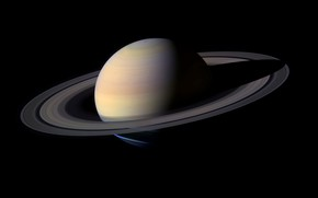 Обои Солнечная Система, планета, кольца, Сатурн