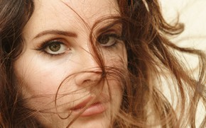 Картинка взгляд, певица, Lana Del Rey