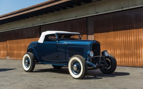 Картинка Roadster, Ford, Classic, American, 1932, Hot-Rod
