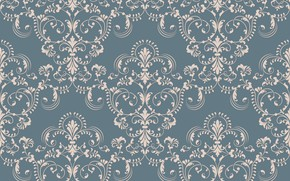 Обои seamless, винтаж, background, texture, ornament, текстура, damask, обои, vector, pattern