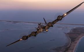 Картинка бомбардировщик, Мемфисская красотка, Memphis Belle, B-17F