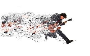 Обои человек, музыка, гитара