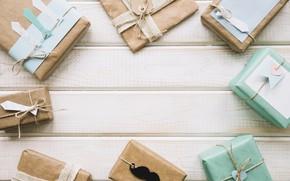 Обои усы, праздник, подарки, мужской день