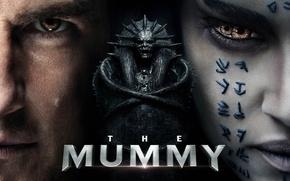 Картинка cinema, skull, monster, eyes, Egypt, movie, tatoo, film, Sofia Boutella, sarcophagus, bakemono, The Mummy, Ton …