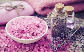 Картинка мыло, pink, лаванда, lavender, соль, spa, oil