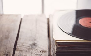 Обои музыка, винил, пластинки