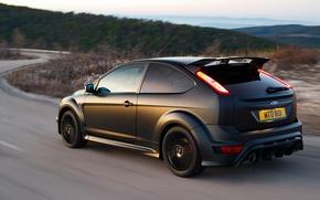 Обои дорога, Ford, Focus, RS500