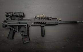Обои автомат, приклад, оружие