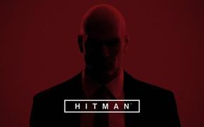 Картинка красный, игра, hitman, киллер, убийца, хитман