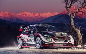 Обои Ford, Зима, Авто, Горы, Снег, Спорт, Машина, Форд, Гонка, Автомобиль, WRC, Rally, Ралли, Fiesta, Фиеста, ...