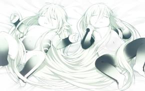 Картинка DRAMAtical Murder, Nitro+CHiRAL, Seragaki Aoba, Seragaki Sei, Honya Lala